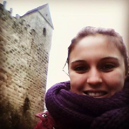 Duda visitando Burg em Roth